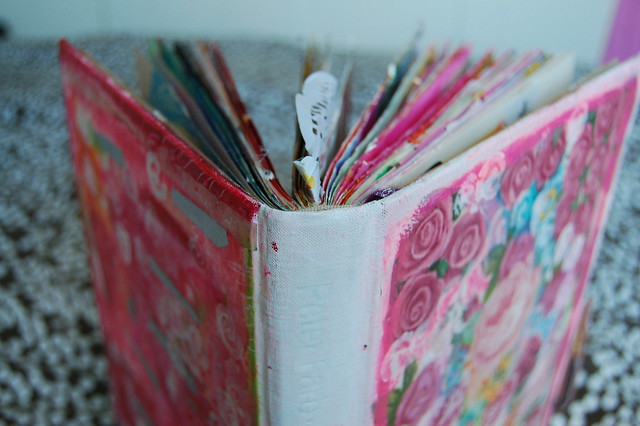 Altered Book Cover Tutorial : Altered book tutorial ihanna s