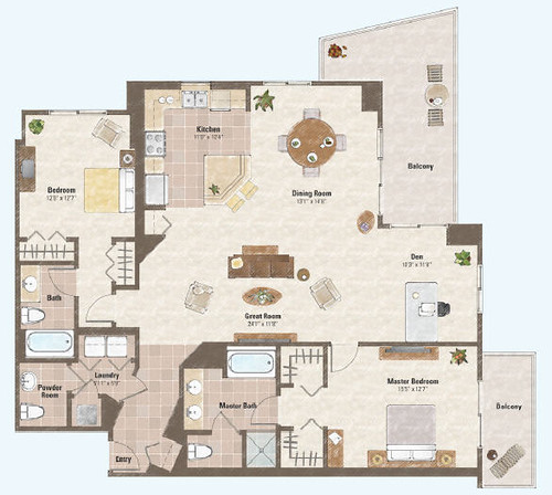 Floor plans luxury condos high rise house plans home for Floor plans high rise apartments