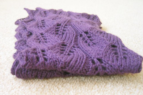 Knitting Summer Scarves : Knitted lace scarf pattern patterns gallery