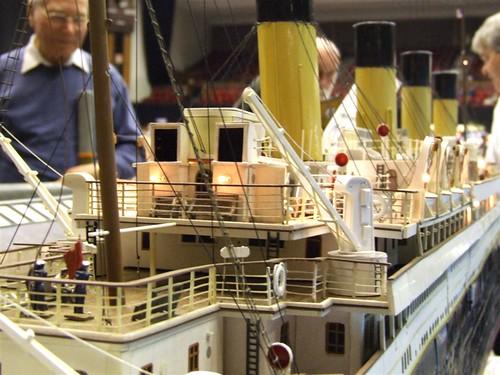 Titanic. Starboard detail.