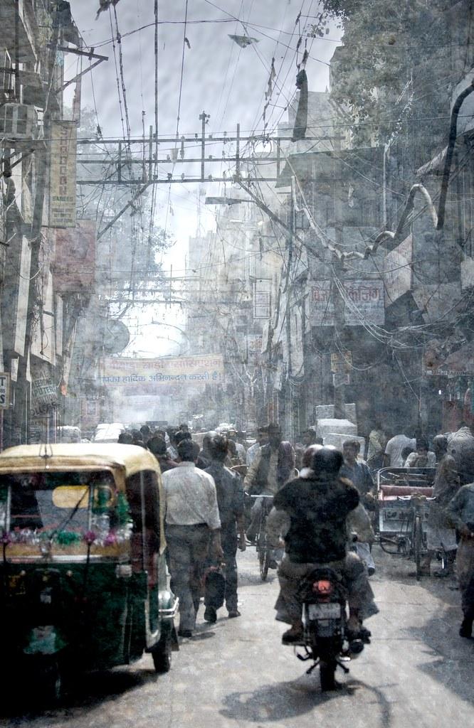 """Wird immer mehr: Verkehr in Indien. (Bild von user """"Stuck in Customs"""" auf flickr)"""