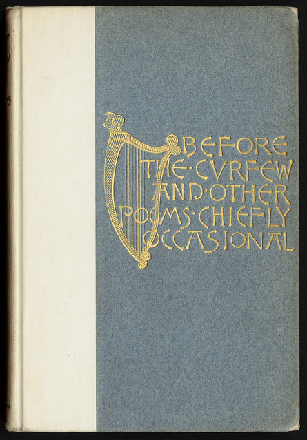 Poetry Book Cover Generator : Before the curfew and other poems chiefly occasional