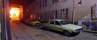 Half-Cobbeled Sibiu Alley