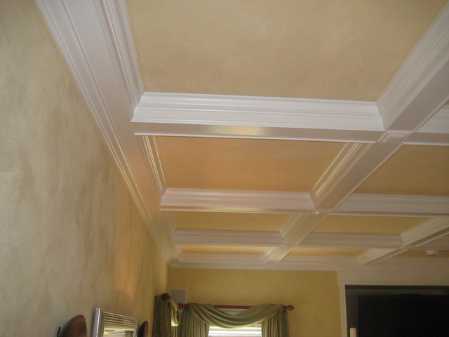 Coffered ceiling designs flickr photo sharing for Coffered ceiling styles