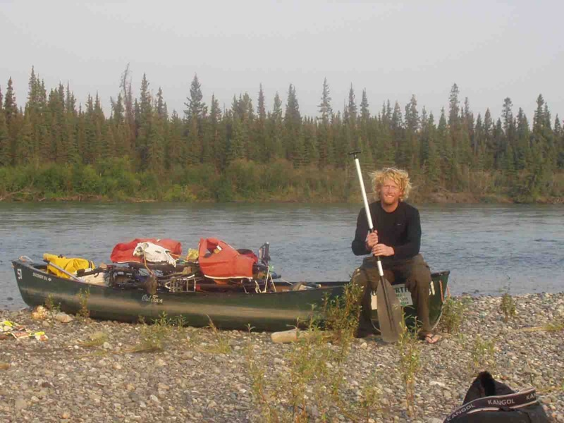 canoeing the Yukon