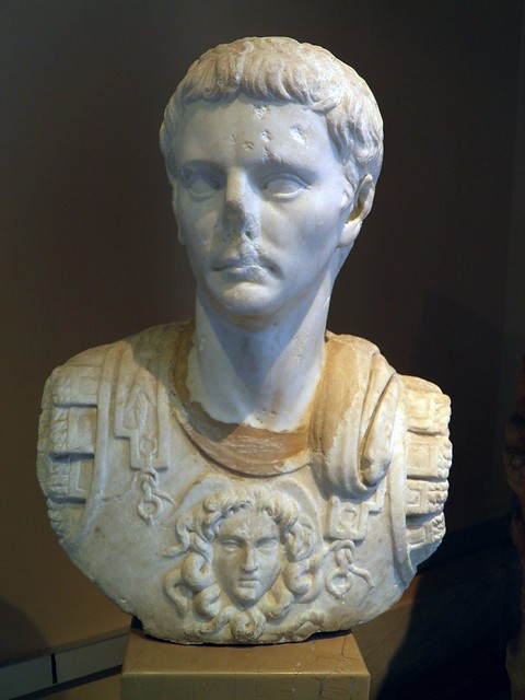 Bust of the Emperor Julius Claudius (41 - 54 AD), Sculpture of Roman Period, Istanbul Archaeology Museum