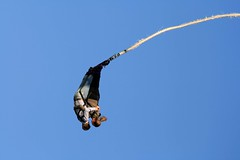 adventure, bungee jumping, bungee cord, extreme sport, sky,