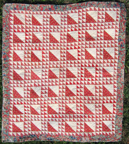 Lady of the lake crib quilt
