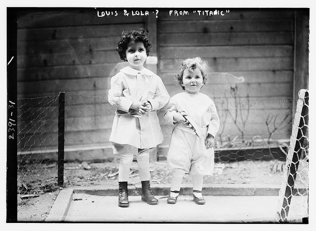 Louis & Lola ?-- from Titanic (LOC)