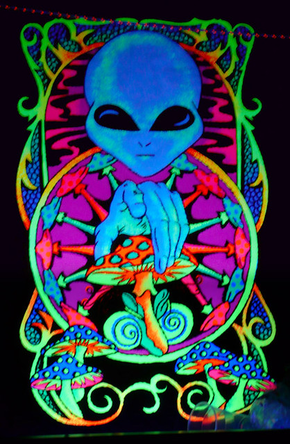 art aliens psychedelic - photo #2