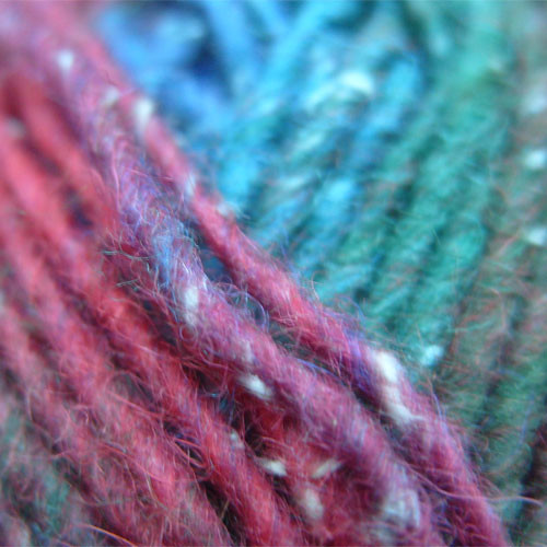 Plymouth Boku yarn, closeup