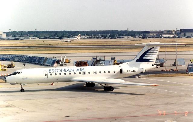 ESTONIAN AIR TU 134 ES-AAK(cn60977)