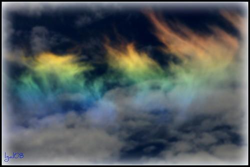 "Phenomena possibly ""Cloud Iridesence"" by lgal3824"