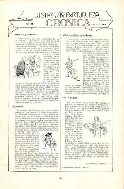 Ilustração Portugueza, No. 457, November 23 1914 - 2