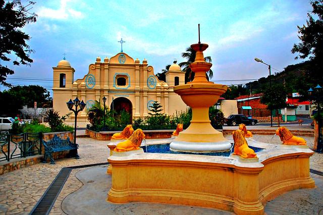 Conchagua El Salvador  city photos : Iglesia colonial de Conchagua | Construida en 1693 por Wence ...