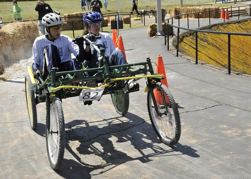 Great Moonbuggy Race Winners: Third Place, High School, Tie (NASA, April 10, 2010)