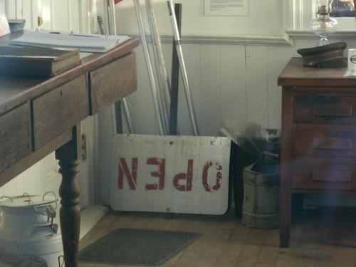 Birthday: Saline Train Depot: Office - Upside Down Open