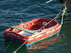 proa(0.0), pilot boat(0.0), motorboat(0.0), fishing vessel(0.0), dinghy(1.0), vehicle(1.0), sea(1.0), skiff(1.0), watercraft rowing(1.0), boating(1.0), watercraft(1.0), boat(1.0),