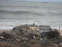 Elmina trash