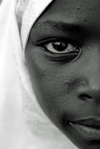 Portrait of Rwandan Muslim Girl