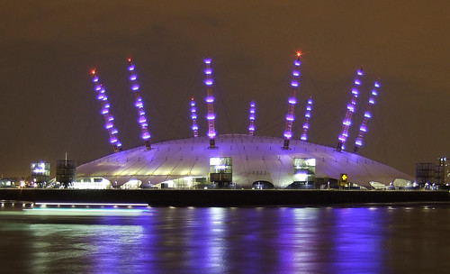 O2 Arena with Clipper