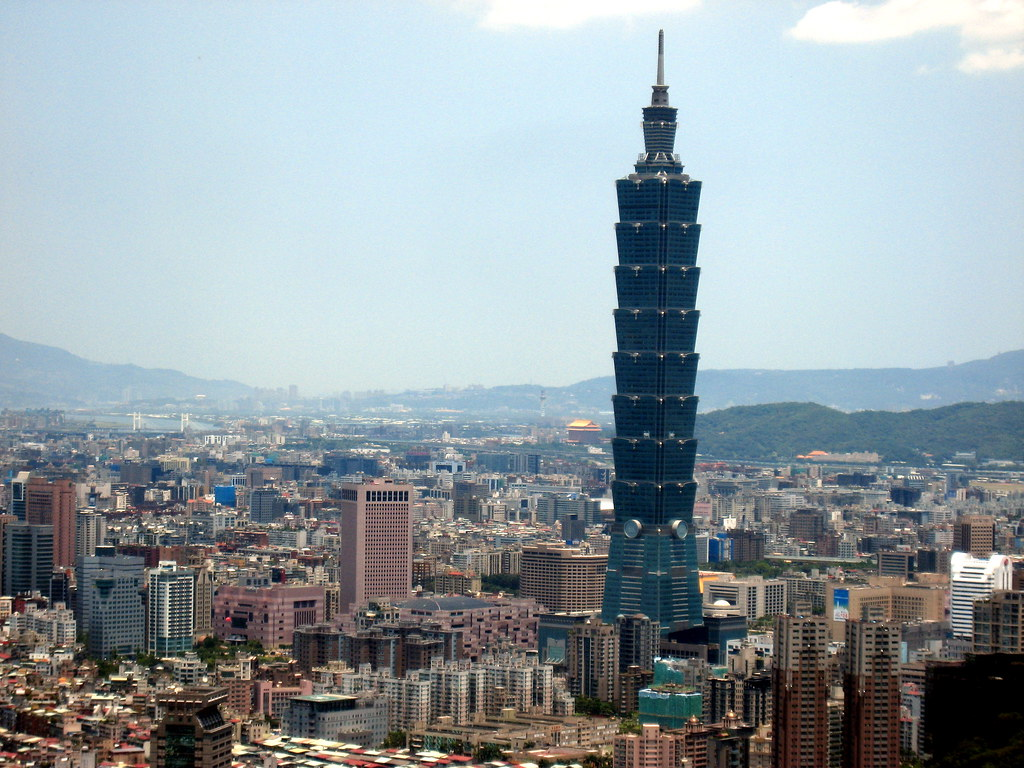 Image result for Taipei 101, Taiwan - 1,667 feet