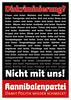 Kannibalenpartei: Diskriminierung…
