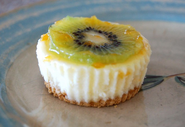 Mini Kiwi Cheesecake | Flickr - Photo Sharing!