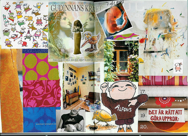 7 October 2007 Happiness diary collage nr 2