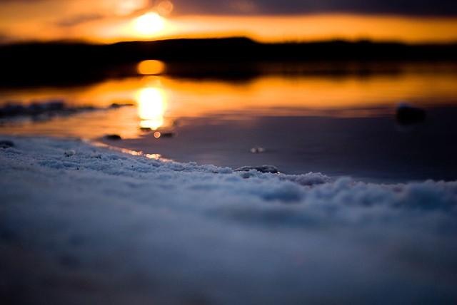 Salt sun