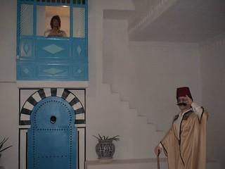 Dans le musée des arts traditionnels à Djerba