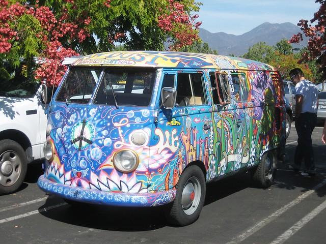 vw hippie van   sawdust festival flickr photo sharing