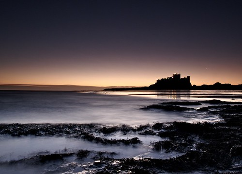 Bamburgh Castle @ dawn
