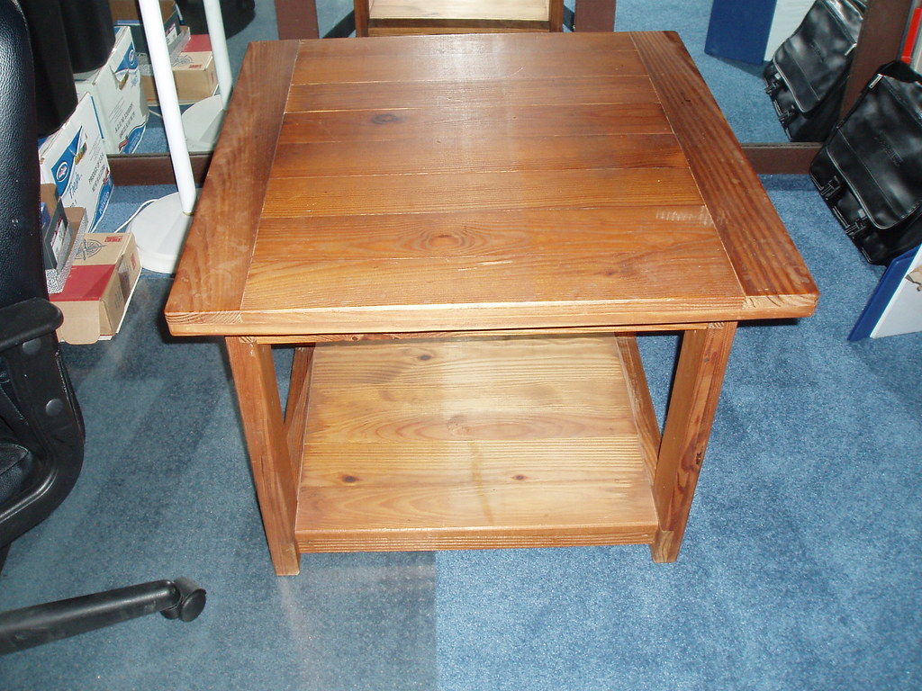 Wood Table 1, $55