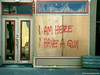 Door: Storefront after Katrina, New Orleans, Louisiana, 2005 by Rob Sheridan