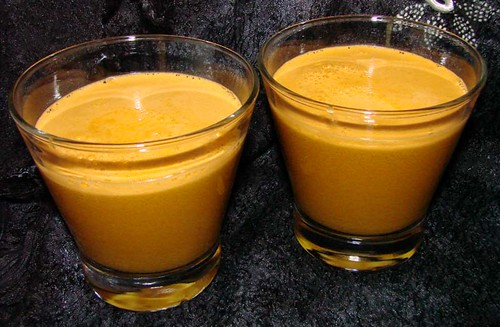 Parsley and Carrot Drink