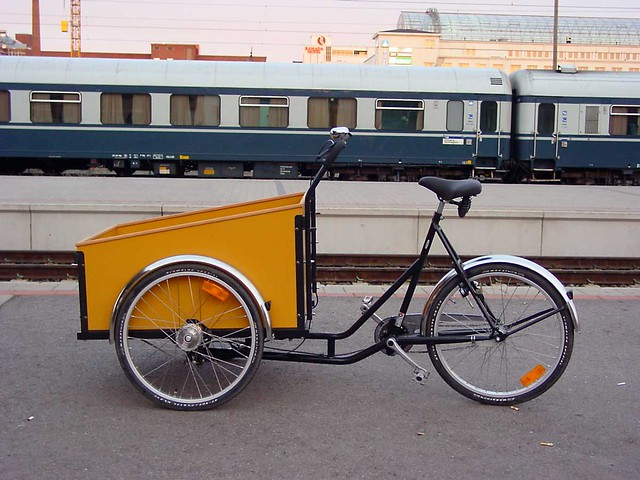 christiania bikes plus qu 39 un triporteur une histoire. Black Bedroom Furniture Sets. Home Design Ideas