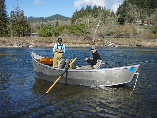 Report mckenzie river fishes well will improve with for Guided fishing trips in oregon