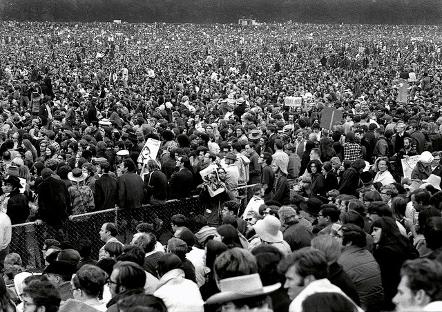 Peace Rally, Polo Fields, San Francisco 1969