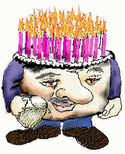 Happy Birthday Robin Cake