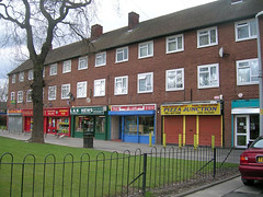 Lovely shop parade, Woodhouse Park