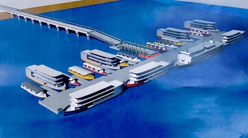 Consórcio Tapajós ganha licitação do terminal hidroviário de Santarém, Projeto terminal hidroviário de Santarém