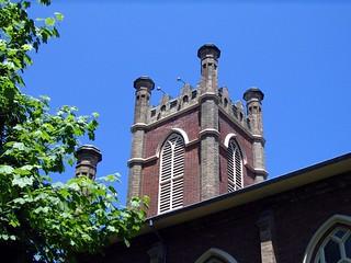 Image of Little Trinity Anglican Church. toronto church spire doorsopen litletrinity