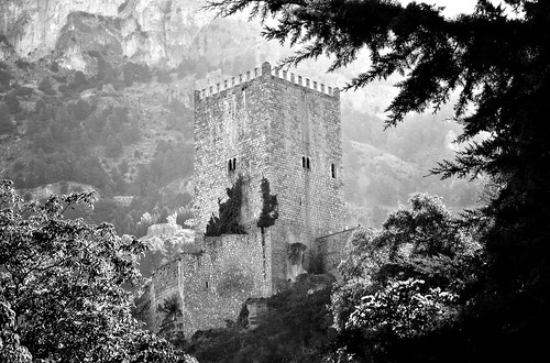 Mountain castle in Cazorla, Spain