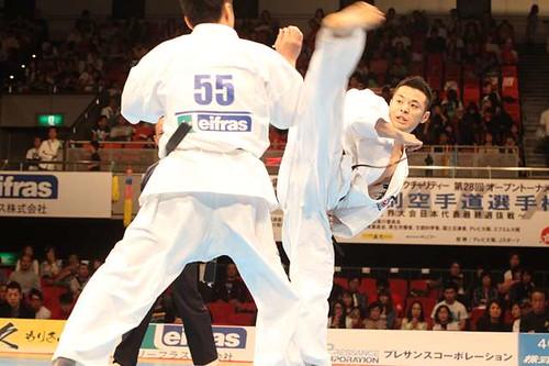 新極真会 第28回全日本ウエイト制空手道選手権大会
