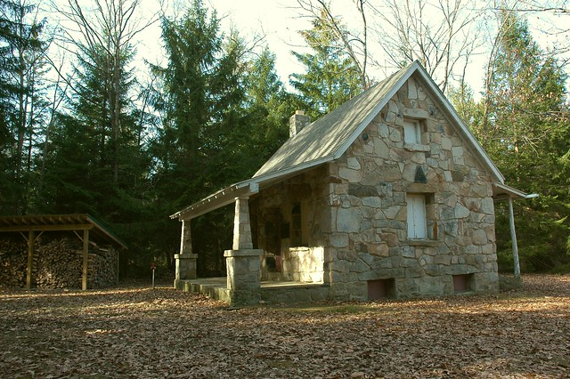 Stone Cabin At West Branch Wilderness Preserve This