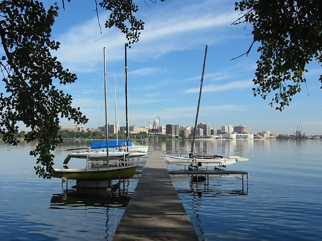Dock on Lake Monona