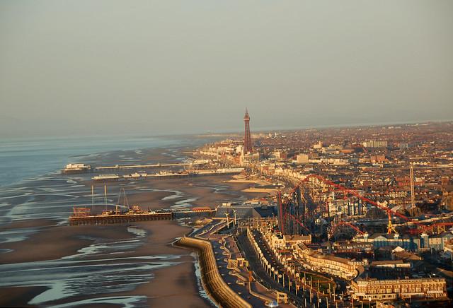 Coming into Blackpool
