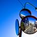 Traffic Convex Mirror by Francis Mueller