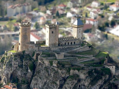 france castle chateau ariege foix thechallengefactory
